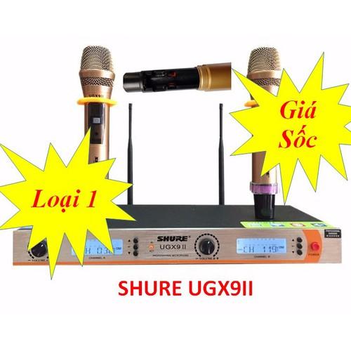 Micro không dấy Shure. UGX9II