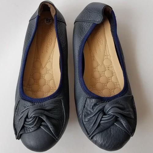 Giày Búp Bê Nữ Da Bò - JZ0442