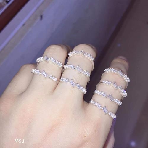 Nhẫn bạc của nữ