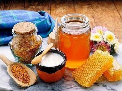 1Lít Mật ong HOA VẢI + 500g Phấn hoa XUYẾN CHI 1