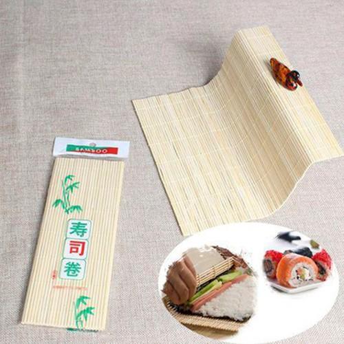 5 Mành cuộn sushi   Bamboo Sushi Mat Mành gỗ