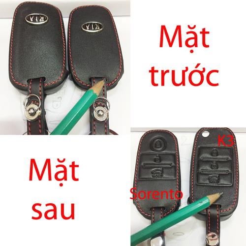 Bao da chìa khóa ô tô KiA K3 và Sorento - 4195974 , 10356067 , 15_10356067 , 225000 , Bao-da-chia-khoa-o-to-KiA-K3-va-Sorento-15_10356067 , sendo.vn , Bao da chìa khóa ô tô KiA K3 và Sorento