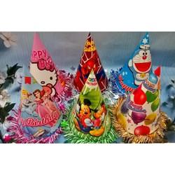 Nón tiệc sinh nhật viền kim tuyến
