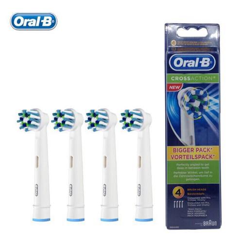 Set 4 đầu bàn chải điện thay thế Oral-B cho người lớn