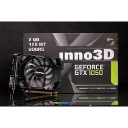 [Rẻ Vô Đối]  Card màn hình Inno3D GeForce GTX 1050 Compact 2Gb GDDR5