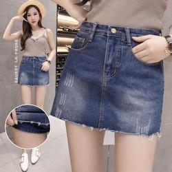 Chân váy jean - Chân váy bò kèm quần trong