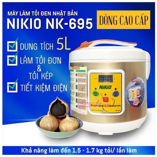 Máy làm tỏi đen Nhật Nikio NK-695 5L chính hãng kèm quà tặng - 4197929 , 10359039 , 15_10359039 , 2300000 , May-lam-toi-den-Nhat-Nikio-NK-695-5L-chinh-hang-kem-qua-tang-15_10359039 , sendo.vn , Máy làm tỏi đen Nhật Nikio NK-695 5L chính hãng kèm quà tặng