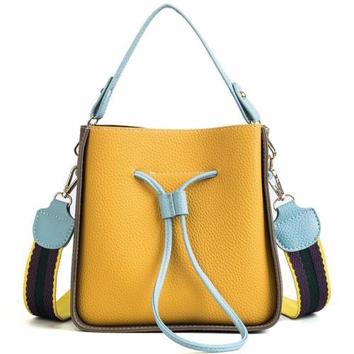 Túi đeo chéo phối màu dây màu sắc - T714