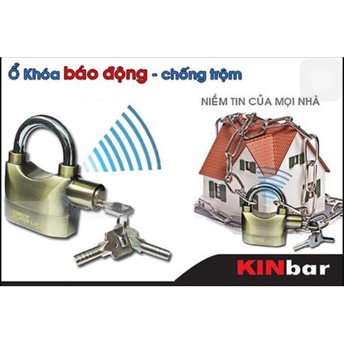 Bộ 2 ổ khóa báo động chống trộm Kinbar