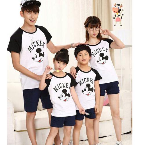 Áo gia đình áo đồng phục Mickey chất cotton loại 1 đủ size giá 1 áo