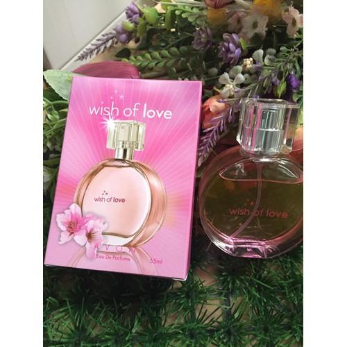 Nước hoa Avon Wish of love 50ml mẫu mới + 01 lăn 12 ml