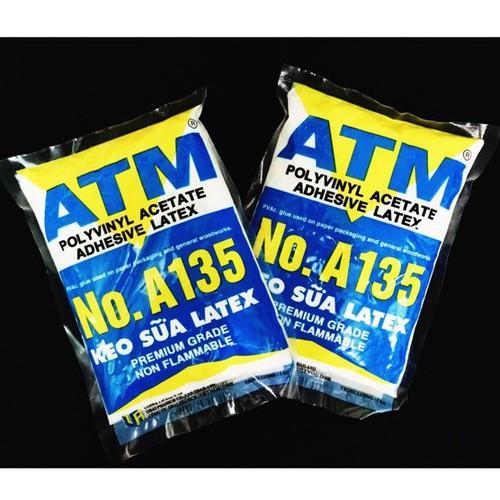 2 bịch keo sữa ATM túi 1 kg