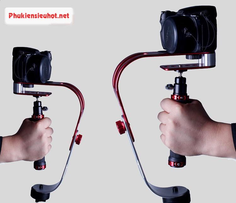 Tay quay phim chống rung cho máy ảnh và điện thoại SLR GOPRO 17