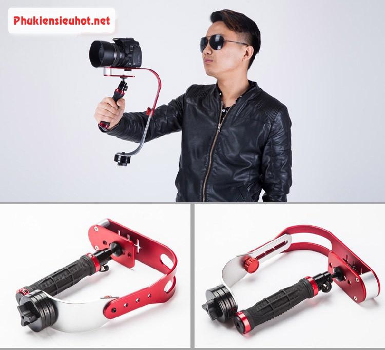 Tay quay phim chống rung cho máy ảnh và điện thoại SLR GOPRO 1