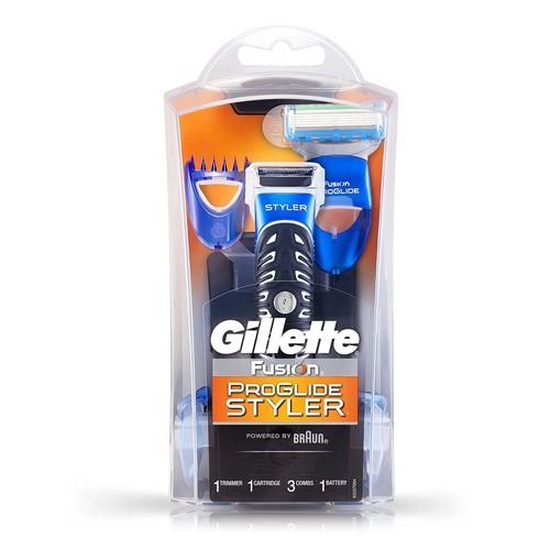 Bộ Máy Cạo Râu Gillette Fusion ProGlide Styler 3 in 1 Chạy Pin - 4203057 , 10365559 , 15_10365559 , 598000 , Bo-May-Cao-Rau-Gillette-Fusion-ProGlide-Styler-3-in-1-Chay-Pin-15_10365559 , sendo.vn , Bộ Máy Cạo Râu Gillette Fusion ProGlide Styler 3 in 1 Chạy Pin