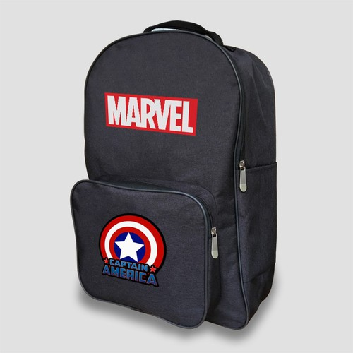 Balo Marvel Captain America - 4202461 , 10365043 , 15_10365043 , 280000 , Balo-Marvel-Captain-America-15_10365043 , sendo.vn , Balo Marvel Captain America