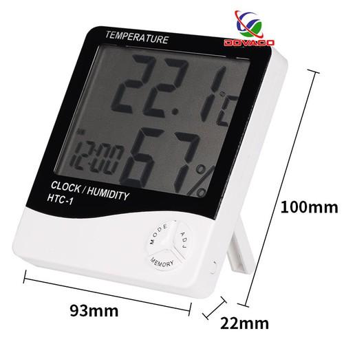 Máy đo độ ẩm, nhiệt độ HTC-1