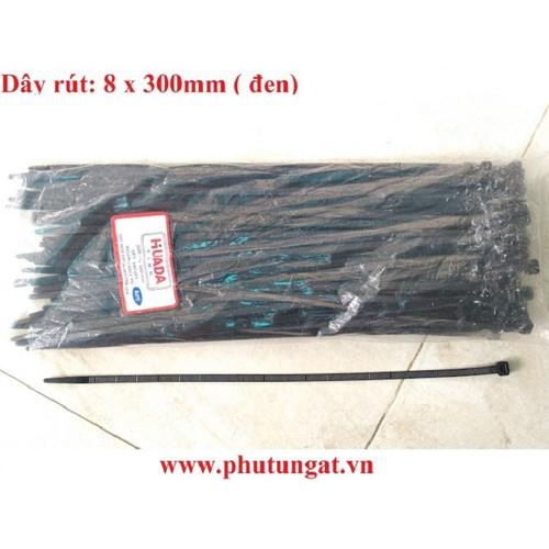 Dây rút nhựa 8 x 300mm - 1 Bịch khoảng 80 sợi