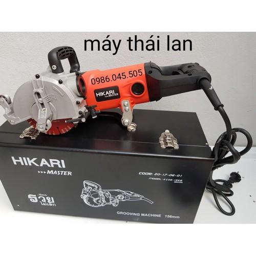 máy cắt rãnh tường hikari kc05-156b-máy cắt rãnh tường 125mm