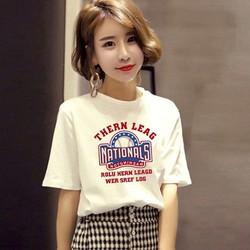 Áo thun cotton nữ năng động trẻ trung