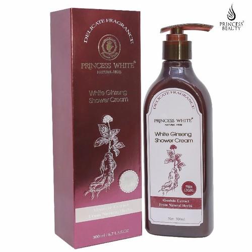 Sữa tắm dưỡng trắng Hồng Sâm - White Ginseng Princess White
