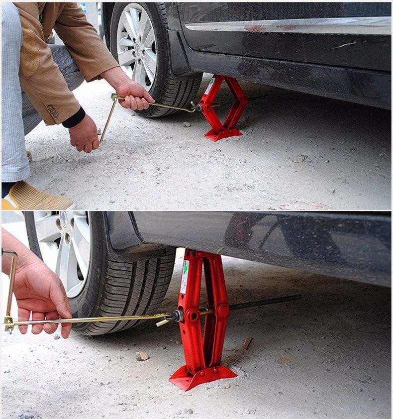 Kích ren thay lốp dự phòng - Kích ô tô 4