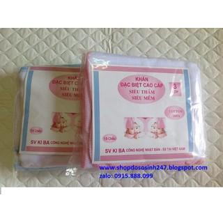 10 Chiếc khăn sữa 3 lớp xuất Nhật - KH3 thumbnail