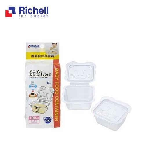 Bộ chia thức ăn Richell 100ml