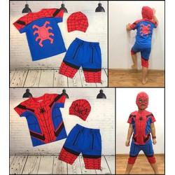 Bộ Quần áo người nhện Spiderman TẶNG mặt nạ trùm
