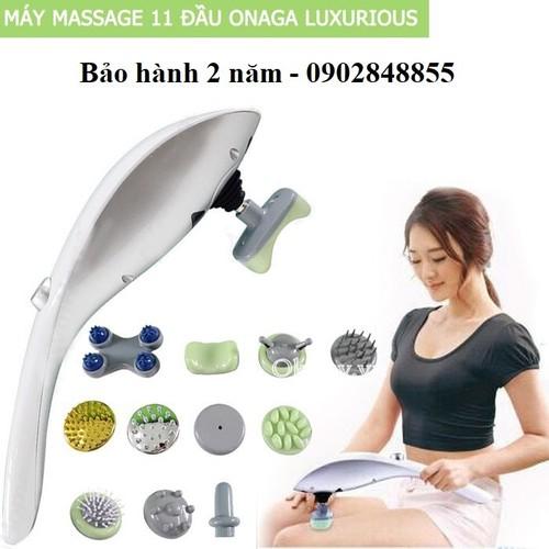 Máy massage cầm tay  11 đầu Luxurious Massager hàng nhập khẩu - 4206846 , 10369946 , 15_10369946 , 600000 , May-massage-cam-tay-11-dau-Luxurious-Massager-hang-nhap-khau-15_10369946 , sendo.vn , Máy massage cầm tay  11 đầu Luxurious Massager hàng nhập khẩu