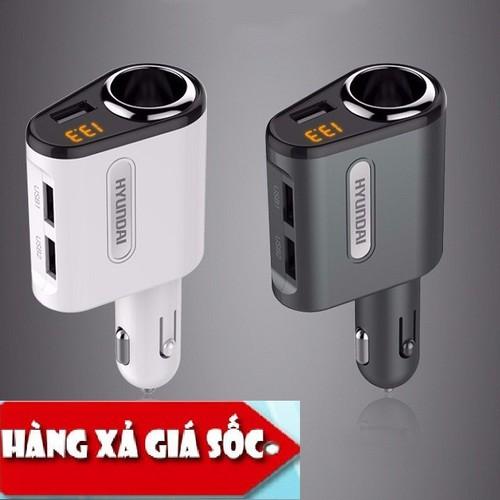 Bộ chia tẩu và 2 cổng USB Hyunda i cho ô tô - bộ chia tẩu sạc ô tô - 4202489 , 10365123 , 15_10365123 , 429000 , Bo-chia-tau-va-2-cong-USB-Hyunda-i-cho-o-to-bo-chia-tau-sac-o-to-15_10365123 , sendo.vn , Bộ chia tẩu và 2 cổng USB Hyunda i cho ô tô - bộ chia tẩu sạc ô tô
