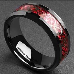 Nhẫn nam họa tiết phong cách Âu Mỹ NN049