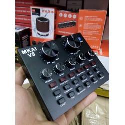 Sound card thu âm V8 có autotune ,hiệu ứng, loại xịn