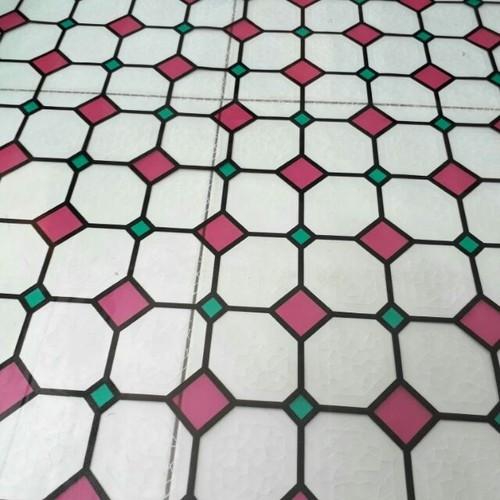 5m giấy dán kiếng hình kim cương khổ 45cm
