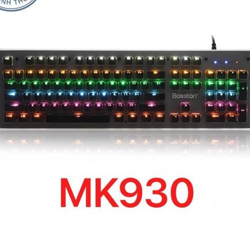 Bàn phím cơ blue switch cao cấp Bosston MK930