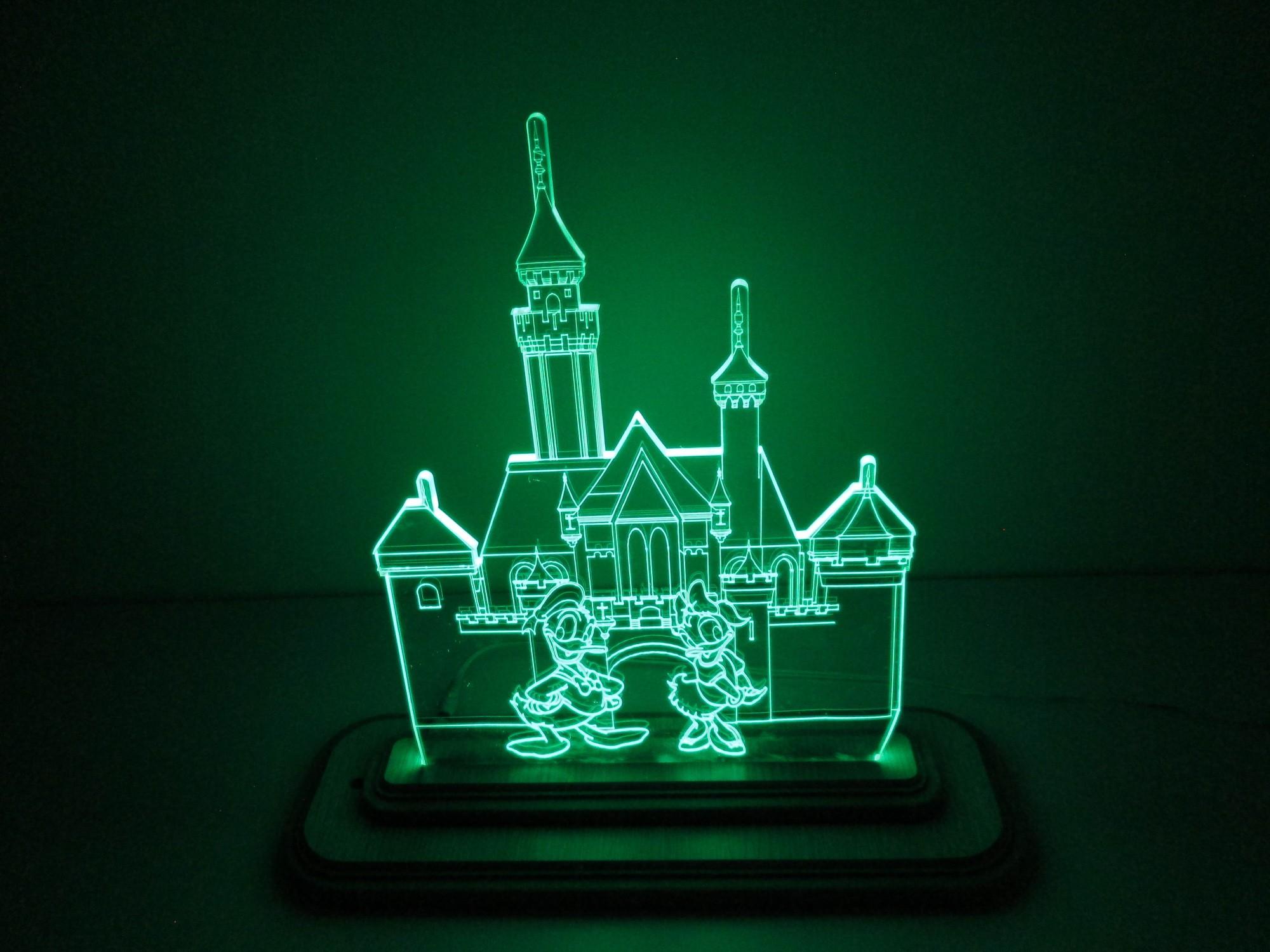 Đèn Led 3D Mô Hình Lâu Đài Vịt Donal, giá tốt nhất 300,000đ! Mua nhanh tay!