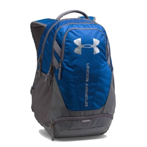 Balo thể thao Under Armour Hustle 3.0 Backpack Blue-Grey