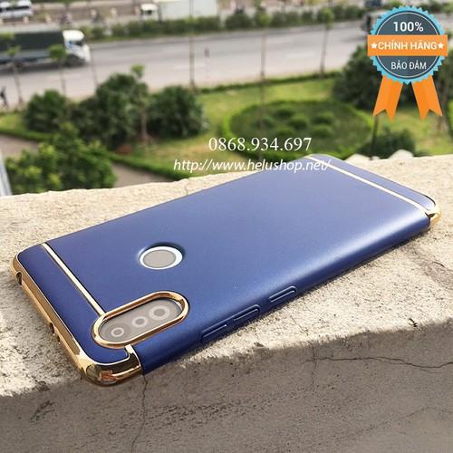 Ốp lưng Xiaomi Redmi S2 ba mảnh - Đen, Xanh, Đỏ, Vàng