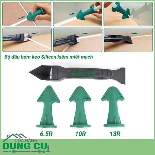 Bộ đầu bơm keo silicone kiêm miết mạch silicon kèm dụng cụ làm sạch - 4213639 , 10379400 , 15_10379400 , 200000 , Bo-dau-bom-keo-silicone-kiem-miet-mach-silicon-kem-dung-cu-lam-sach-15_10379400 , sendo.vn , Bộ đầu bơm keo silicone kiêm miết mạch silicon kèm dụng cụ làm sạch