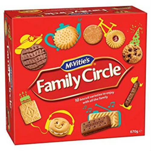 BÁNH QUY FAMILY CIRCLE ASSTD BISCUIT 900g