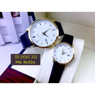 Đồng hồ đôi dây da cao cấp - giá 1 đôi - 3163 thumbnail