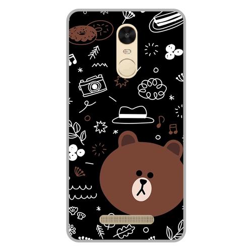 Ốp lưng điện thoại xiaomi redmi note 3 - brown05