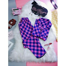 pijama dài lụa satin - Giá Si 140k