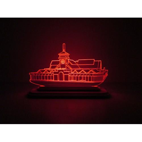 Đèn Led 3D Mô Hình Chợ Bến Thành