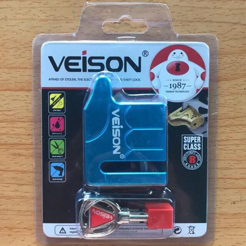 Khoá đĩa xe máy VEISON bằng chất liệu TITANIUM - 4220268 , 10388179 , 15_10388179 , 125000 , Khoa-dia-xe-may-VEISON-bang-chat-lieu-TITANIUM-15_10388179 , sendo.vn , Khoá đĩa xe máy VEISON bằng chất liệu TITANIUM