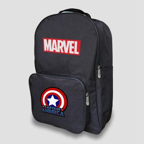Balo Marvel Captain America - 4215425 , 10381557 , 15_10381557 , 300000 , Balo-Marvel-Captain-America-15_10381557 , sendo.vn , Balo Marvel Captain America