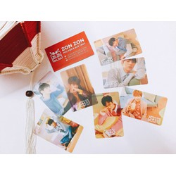Card trong suốt I Promise You 0+1=1_Wanna One