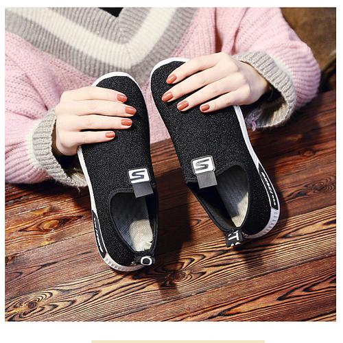 Giày Sneaker Nữ Mẫu Mới Siêu Hot SODOHA SN-35340 Màu Đen