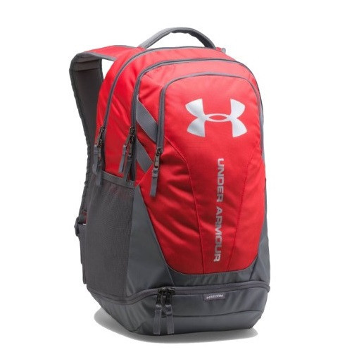 Balo thể thao Under Armour Hustle 3.0 Backpack Red-Grey