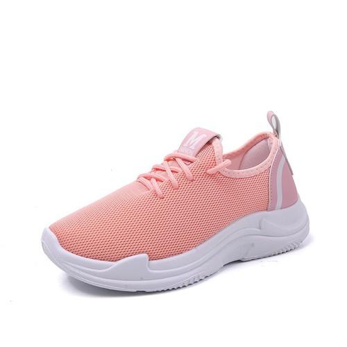 Giày Thể Thao Nữ Sodoha V6-58 [ Êm Nhẹ , Chuẩn , Đế Mềm ] Màu Hồng